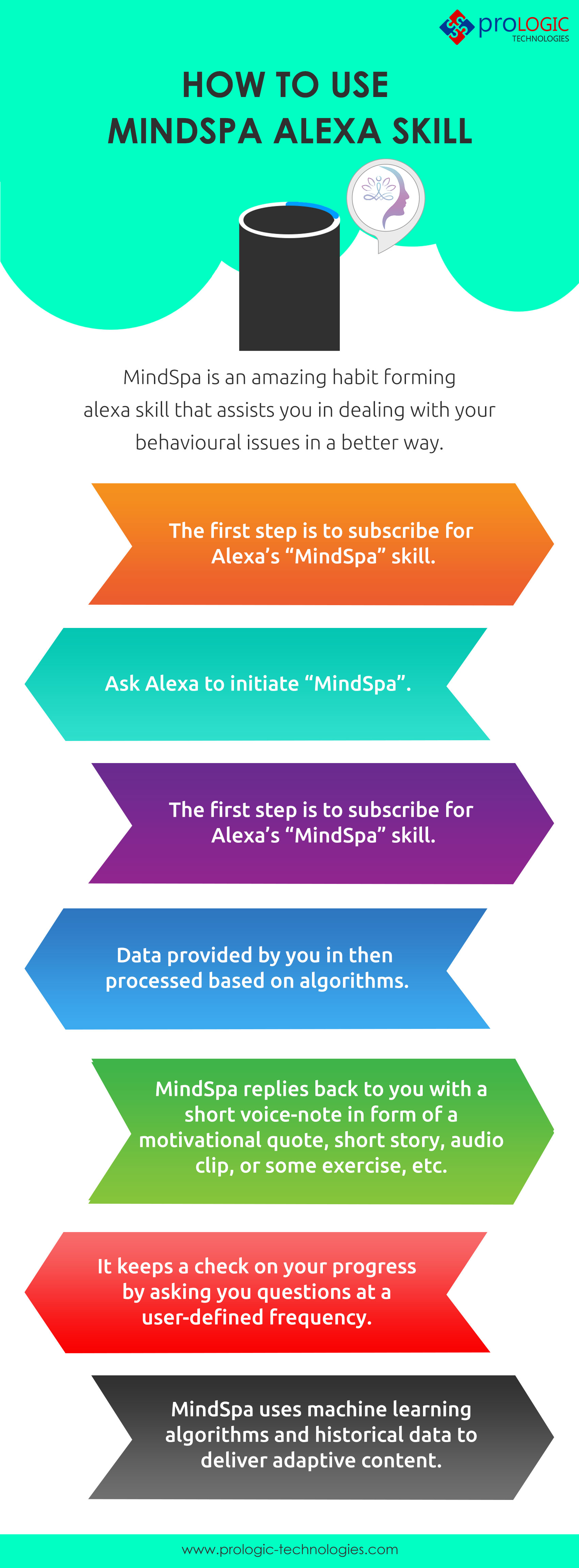 Uses Of Mindspa Alexa Skill