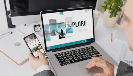 Website for business