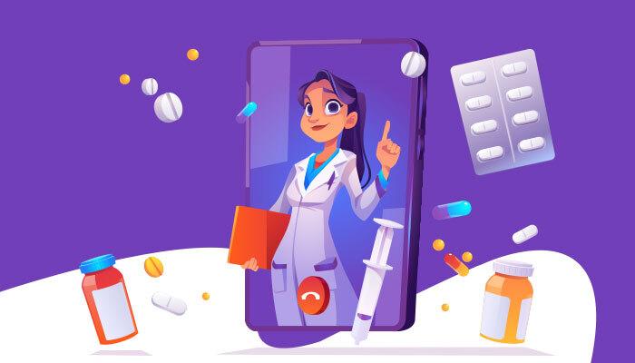 conduct a telemedicine visit