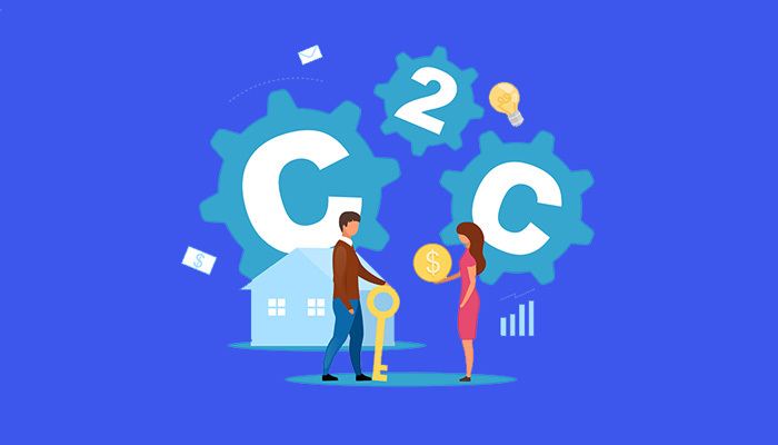 C2C ecommerce business model