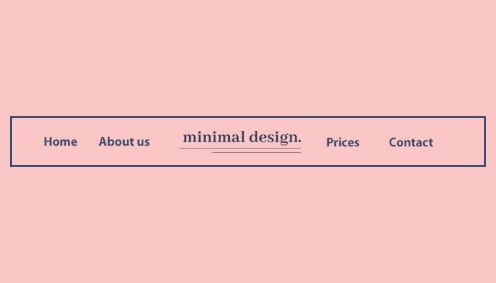 homeoage elements on a website