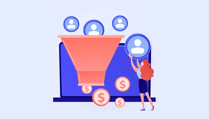 sales funnel for segment your email list